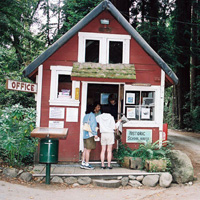 Camping Kiosk and Check-In